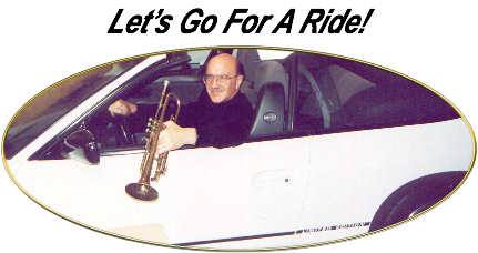Let's Take A Ride (Dave in a car with trumpet)